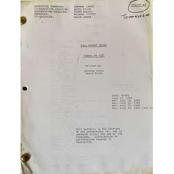 CAPITAINE FURILLO Scénario - S06E03, 60p - 20x25 cm. - 1981 - Daniel J. Travanti, Steven Bochco