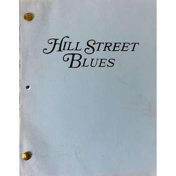 HILL STREET BLUES Movie Script S05E23, 57p - 8x10 in. - 1981 - Steven Bochco, Daniel J. Travanti