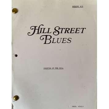 HILL STREET BLUES Movie Script S03E10, 56p - 8x10 in. - 1981 - Steven Bochco, Daniel J. Travanti