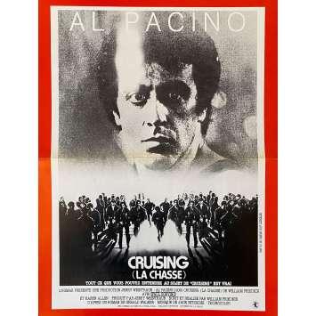 CRUISING LA CHASSE Synopsis- 21x30 cm. - 1980 - Al Pacino, William Friedkin