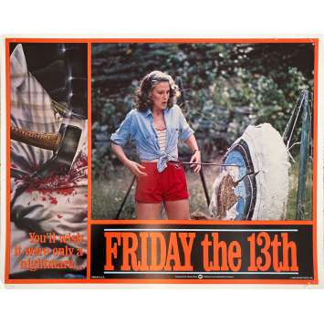 VENDREDI 13 Photo de film Intl - 3 - 28x36 cm. - 1980 - Kevin Bacon, Sean S. Cunningham, Jason