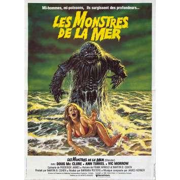 HUMANOIDS FROM THE DEEP French Movie Poster15x21 - 1980 - Barbara Peeters,Jimmy T. Murakami, Doug McClure