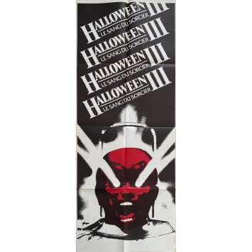 HALLOWEEN III SEASON OF THE WITCH Original Movie Poster- 23x63 in. - 1982 - Tommy Lee Wallace, Tom Atkins