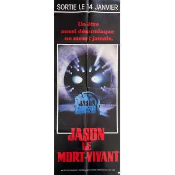 Friday THE 13TH PART VII JASON LIVES Original Movie Poster- 23x63 in. - 1986 - Tom McLoughlin, Tom Mathews