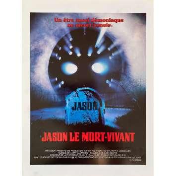 Friday THE 13TH PART VII JASON LIVES Original Herald- 9x12 in. - 1986 - Tom McLoughlin, Tom Mathews