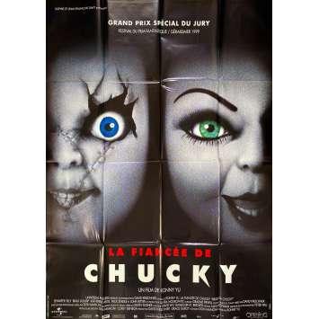 LA FIANCEE DE CHUCKY Affiche de film- 120x160 cm. - 1998 - Jennifer Tilly, Brad Dourif, Ronny Yu