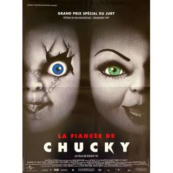 BRIDE OF CHUCKY Original Movie Poster- 15x21 in. - 1998 - Ronny Yu, Jennifer Tilly, Brad Dourif