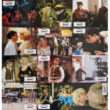 LITTLE SHOP OF HORRORS Original Lobby Cards x12 - 9x12 in. - 1986 - Franck Oz, Rick Moranis
