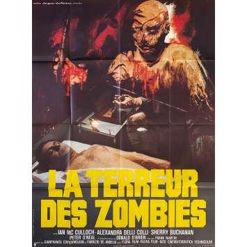 DOCTOR BUTCHER M.D. Original Movie Poster- 47x63 in. - 1980 - Marino Girolami, Ian McCulloch