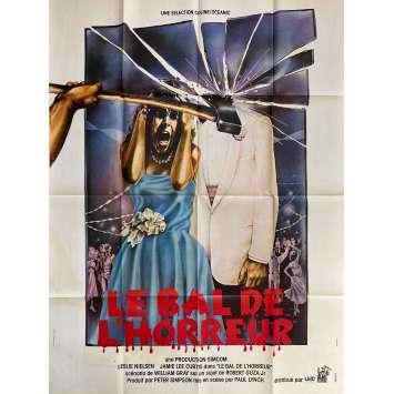 LE BAL DE L'HORREUR Affiche de film- 120x160 cm. - 1980 - Jamie Lee Curtis, Paul Lynch