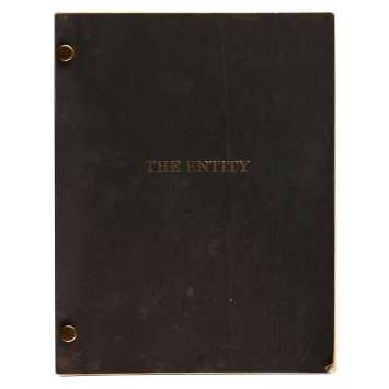 THE ENTITY Original Movie Script 145p+Shooting Schedule - 9x12 in. - 1982 - Sidney J. Furie, Barbara Hershey