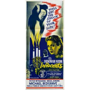 INNOCENTS Original Movie Poster- 13x30 in. - 1962 - Jack Clayton, Deborah Kerr