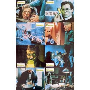 RE-ANIMATOR Original Lobby Cards x8 - 9x12 in. - 1985 - Stuart Gordon, Jeffrey Combs