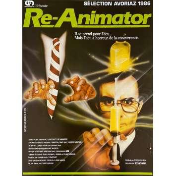 RE-ANIMATOR Original Herald- 9x12 in. - 1985 - Stuart Gordon, Jeffrey Combs