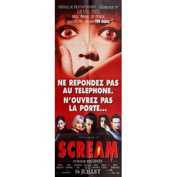 SCREAM Affiche de film- 60x160 cm. - 1996 - Neve Campbell, Wes Craven