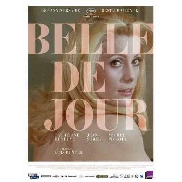 BELLE DE JOUR Original Movie Poster x6 - 15x21 in. - R2010 - Luis Bunuel, Catherine Deneuve