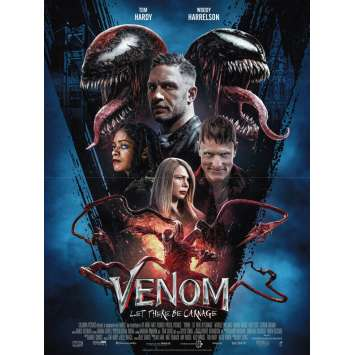 VENOM LET THERE BE CARNAGE Original Movie Poster x8 - 15x21 in. - 2021 - Andy Serkis, Tom Hardy, Woody Harrelson
