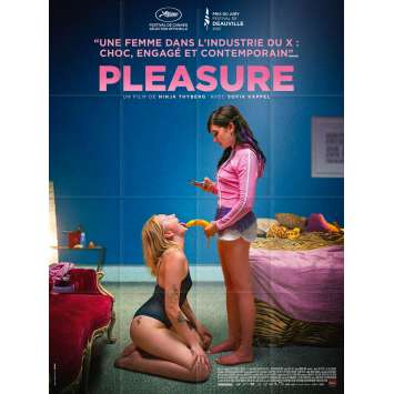 PLEASURE Original Movie Poster- 47x63 in. - 2021 - Ninja Thyberg, Sofia Kappel