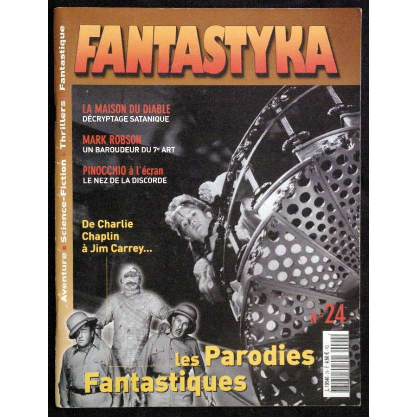 FANTASTYKA N°24 revue '03 Maison du diable, Mark Robson, Parodies