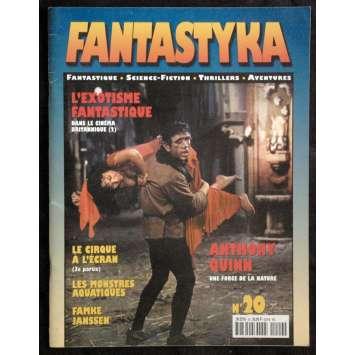FANTASTIKA N°20 rare revue '00 Argento, Oliver Reed, Thunderbirds