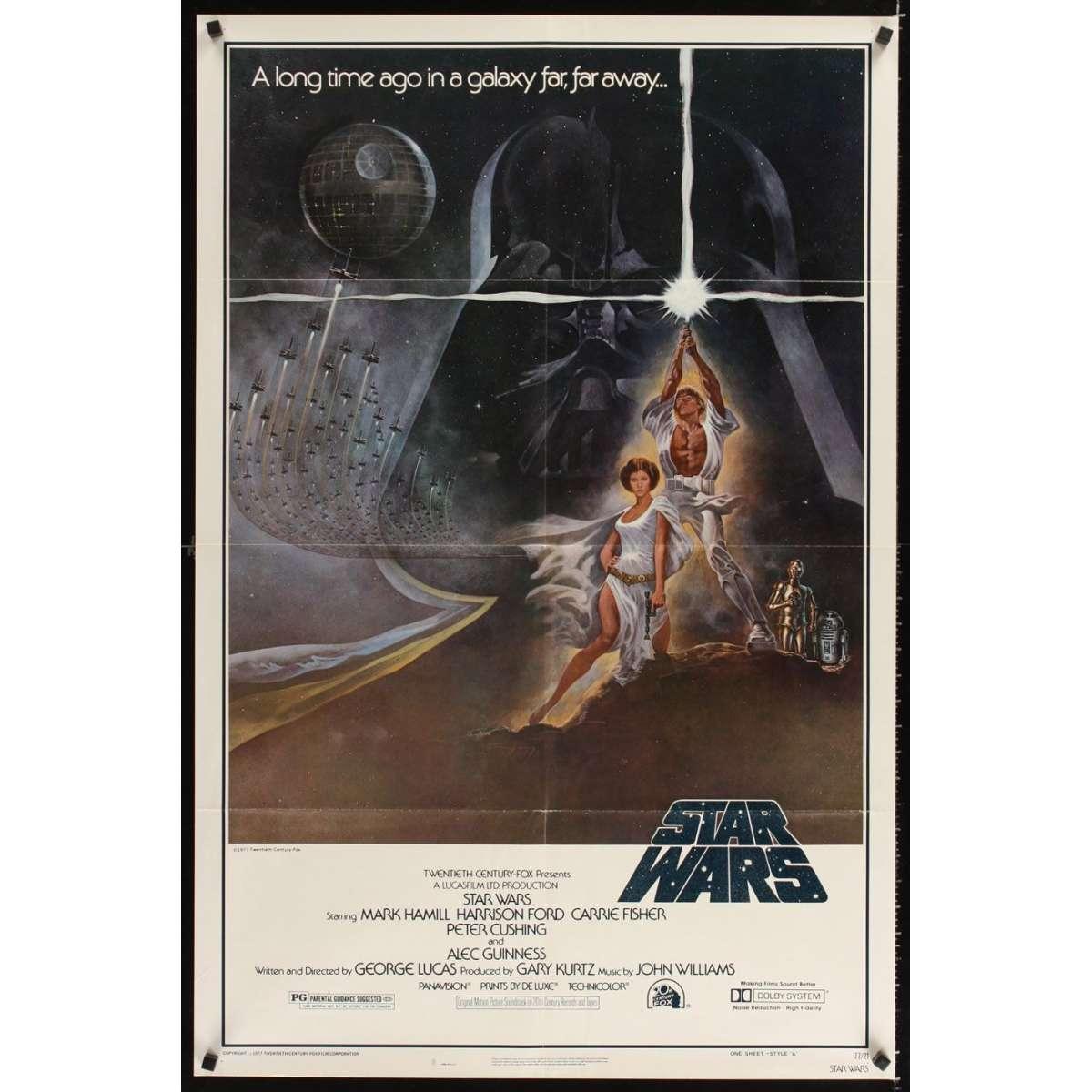 star wars movie poster. Black Bedroom Furniture Sets. Home Design Ideas