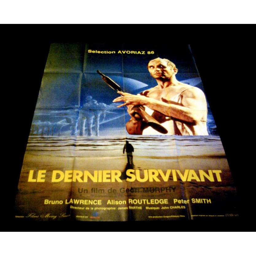 QUIET EARTH French One Panel 47x63 Geoff Murphy Movie Poster '85 Sci-fi