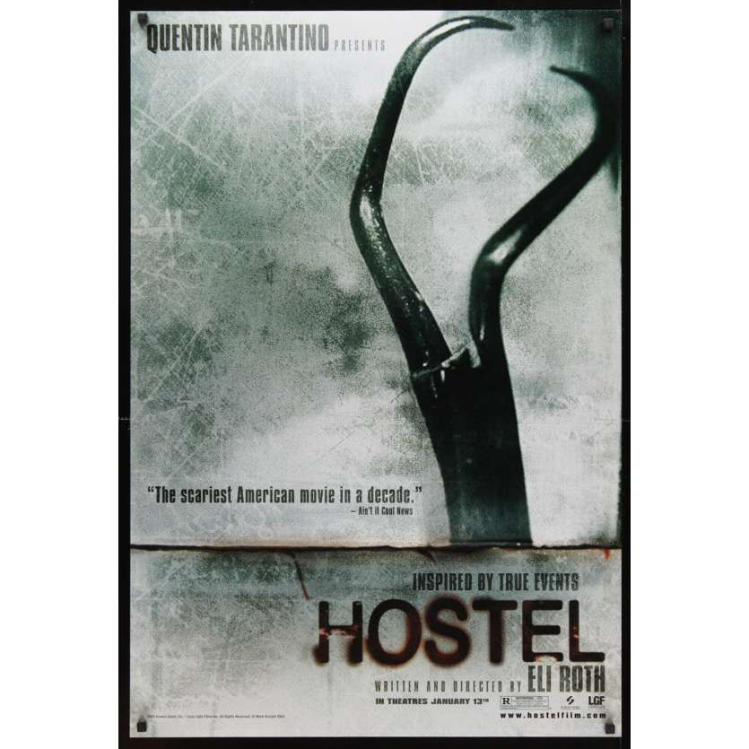 HOSTEL teaser DS 1sh Movie Poster '05 Eli Roth gore-fest
