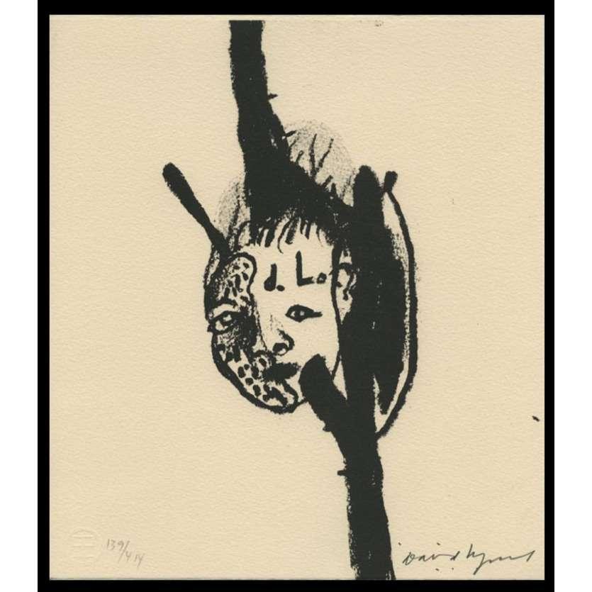 DAVID LYNCH Lithographie signée 139/414 exemplaires