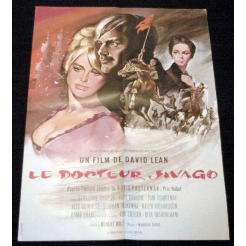 DOCTEUR JIVAGHO Affiche 60x80 R80 David Lean Movie Poster Zhivago