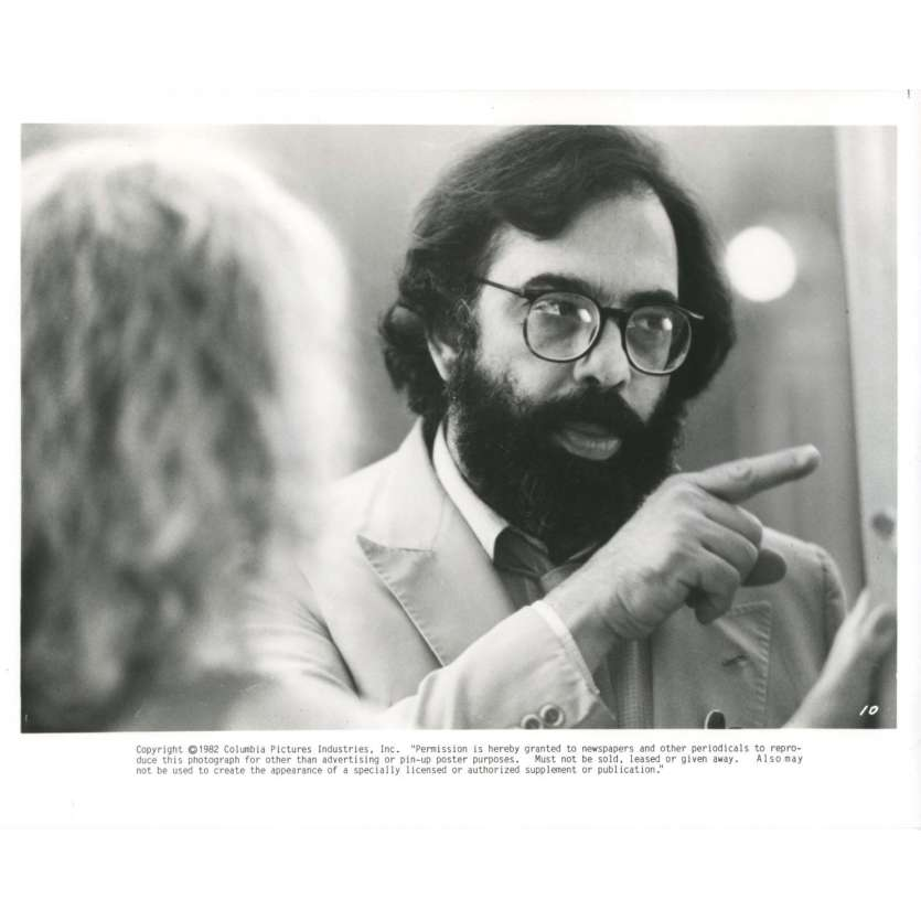 FRANCIS FORD COPPOLA Press Still '82 One from the Heart