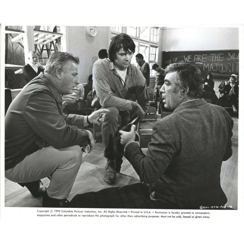 ANTHONY QUINN Press Still '70 20x25 cm R.P.M. george Stevens Gary Lockwood