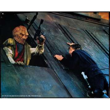 STAR WARS Retour du jedi Lobby Card US '83 Photo 28x36cm Original Photo