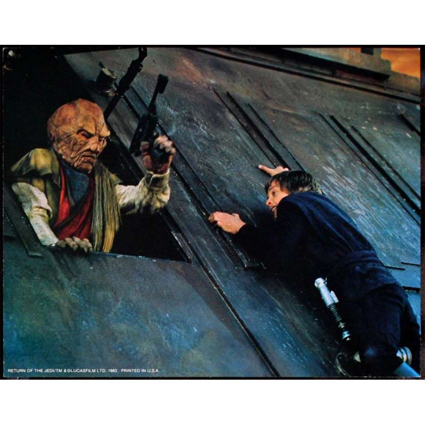 RETURN OF THE JEDI Star Wars Lobby Card 11x14 '83 George Lucas classic