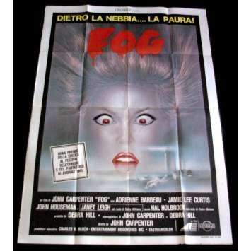 FOG Italian 1P Movie Poster '80 John Carpenter, Jamie Lee Curtis