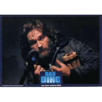 THE THING German Lobby cards - 1983 - John Carpenter, Kurt Russell