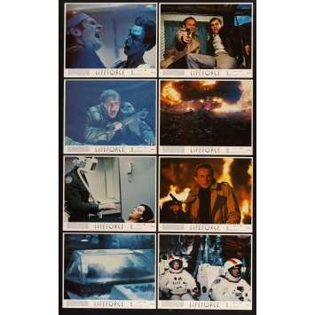 LIFEFORCE 8 8x10 mini LCs '85 Tobe Hooper directed, Steve Railsback, space vampires!