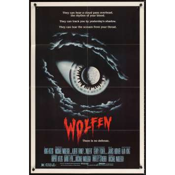 WOLFEN 1sh Movie Poster '81 Albert Finney