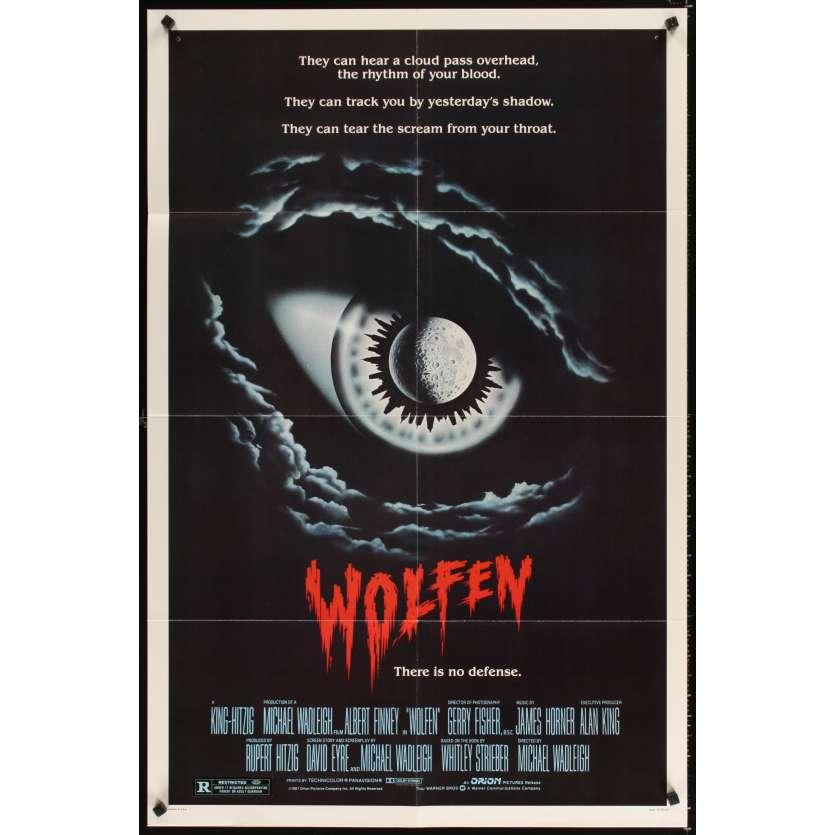 WOLFEN 1sh Movie Poster '81 Albert Finney