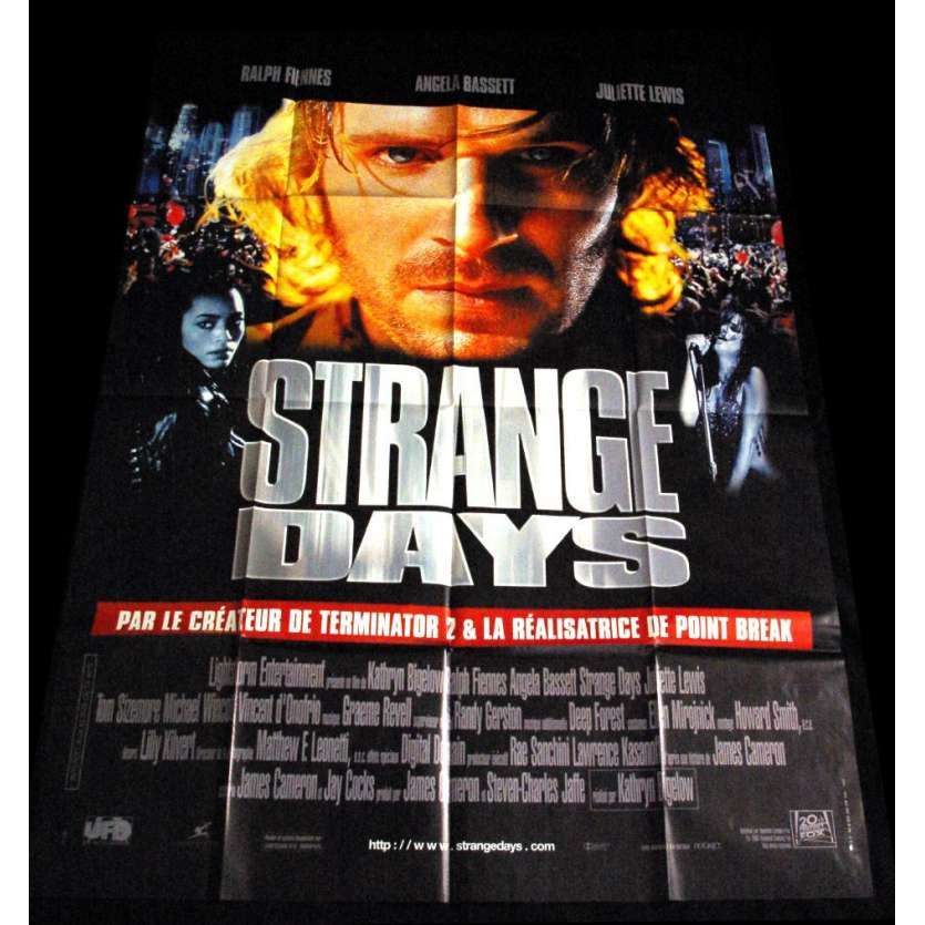 STRANGE DAYS Affiche FR US '90 Bruce Willis, Die Hard movie Poster