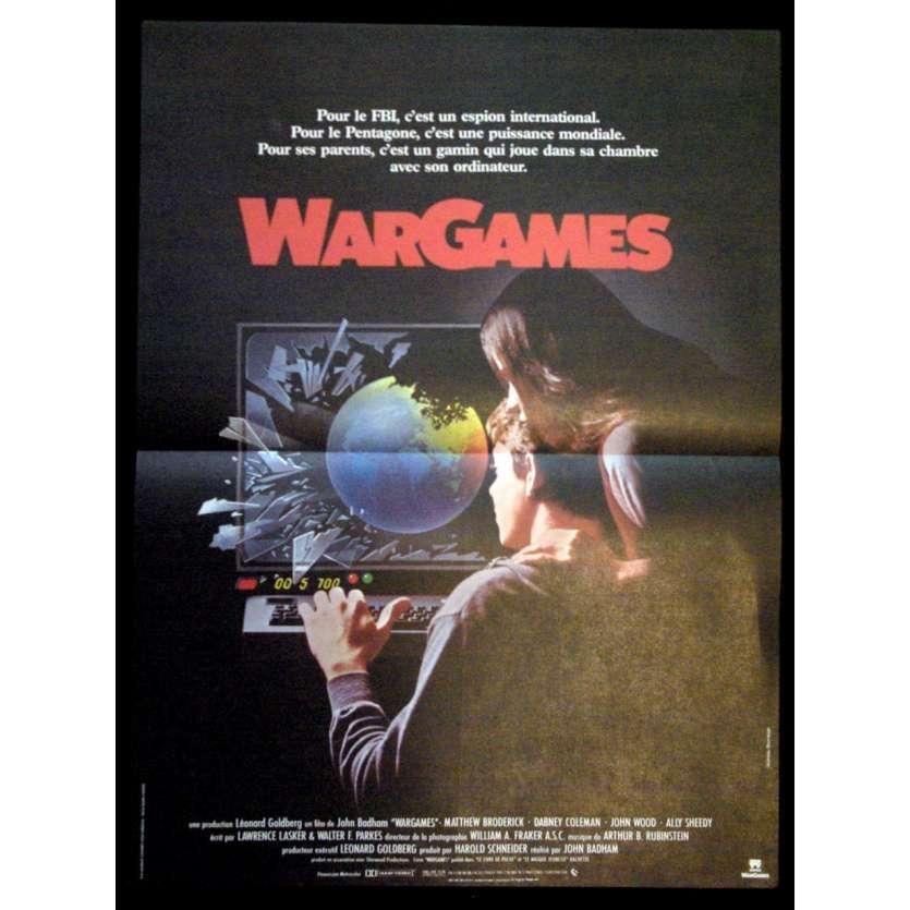 WARGAMES '83 Affiche 40x60 Badham Vintage Movie Poster