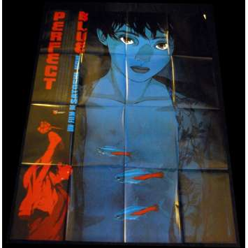 PERFECT BLUE French Movie Poster 47x63 '98 Satoshi Kon Manga Original