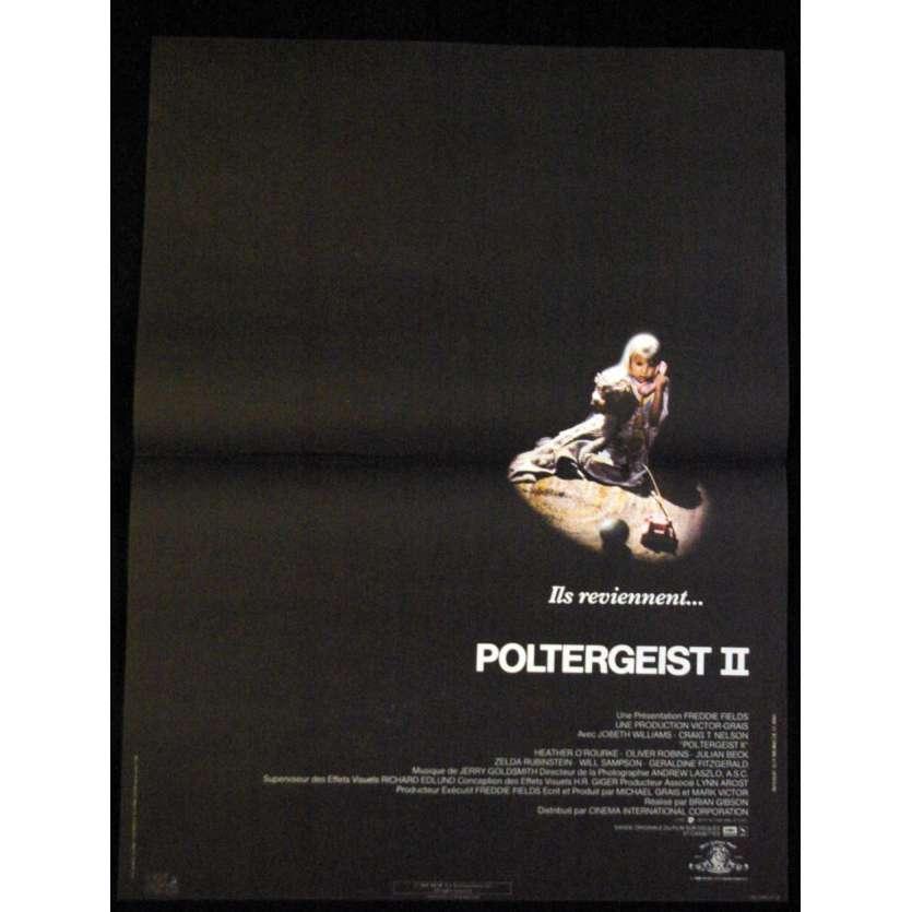 POLTERGEIST II French Movie Poster 15x21 '86 Heather O'Rourke, Original