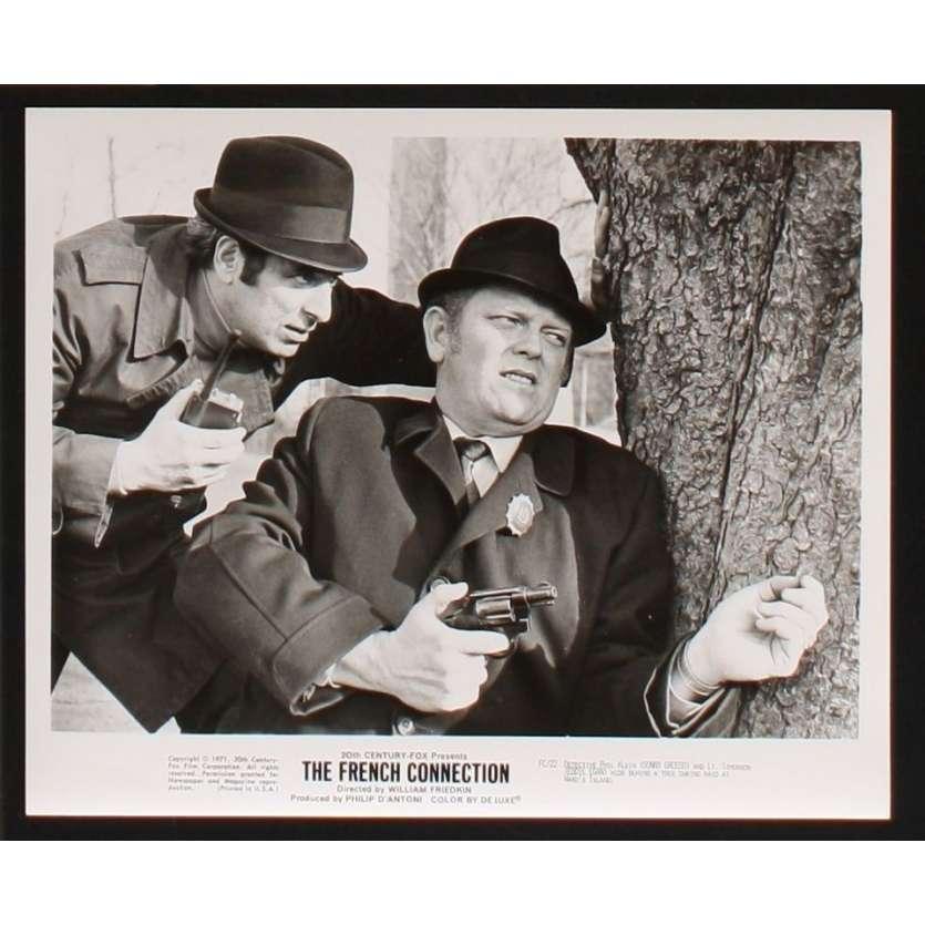 FRENCH CONNECTION 8x10 still '71 William Friedkin, Gene Hackman photo