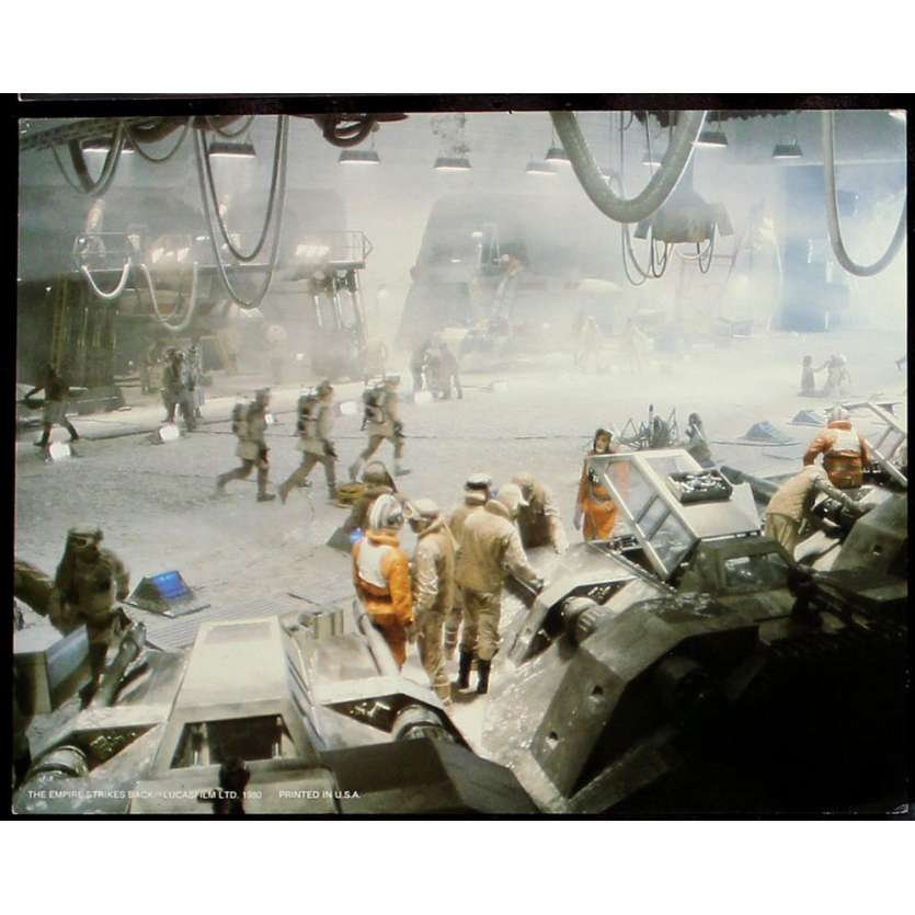 EMPIRE STRIKES BACK Deluxe Still N1 '80 George Lucas sci-fi classic Star Wars