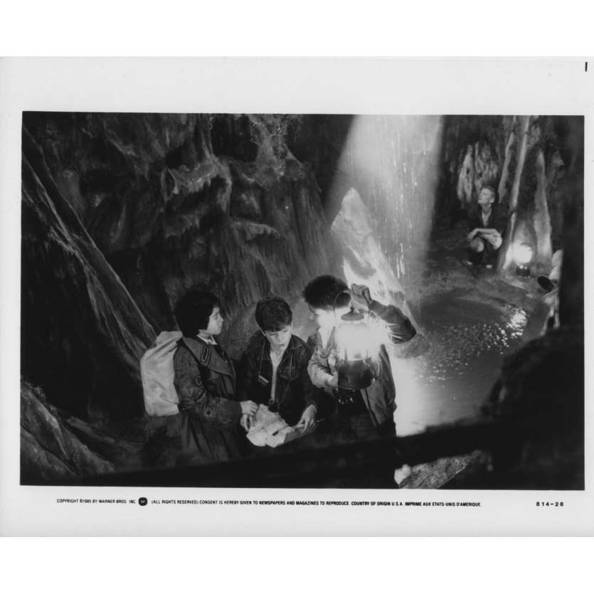 GOONIES Photo de presse US '85 Steven Spielberg Richard Donner Still N11