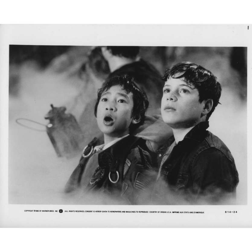 GOONIES Photo de presse US '85 Steven Spielberg Richard Donner Still N13