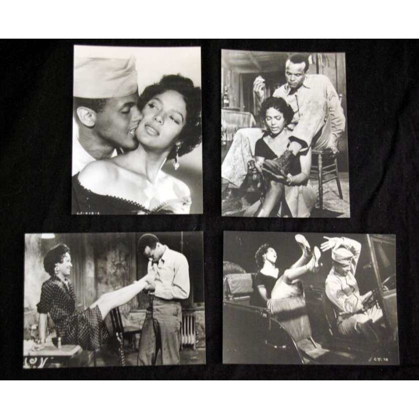 CARMEN JONES Photos de presse R82 Otto Preminger, Harry Bellafonte Movie Stills