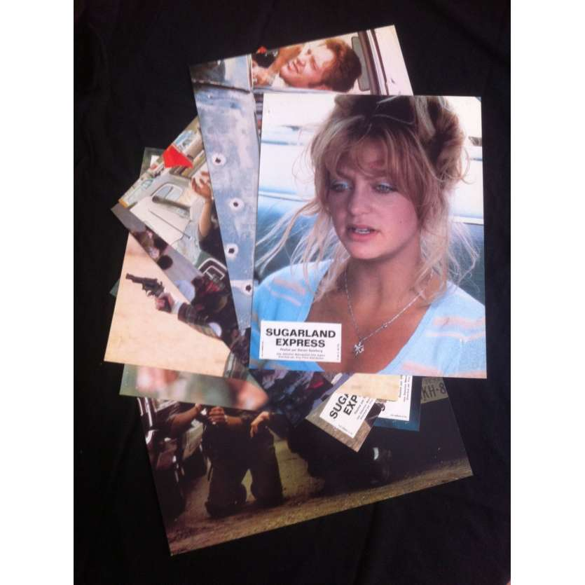 SUGARLAND EXPRESS Photos x8 '74 Steven Spielberg Lobby Cards