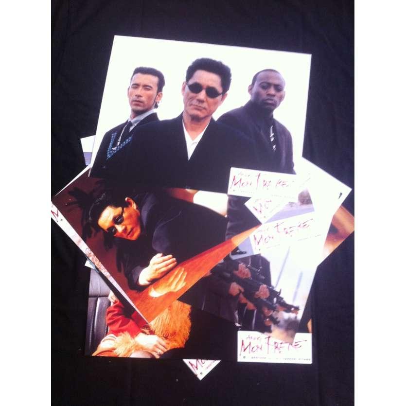 BROTHER Photos FR x8 '00 Takeshi Kitano Lobby Cards