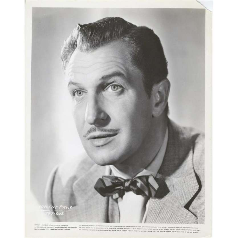 L'HOMME AU MASQUE DE CIRE Photo de presse US '53 House of Wax Vincent Price